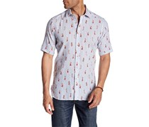 Haspel Maple Short Sleeve Regular Fit Shirt, Mermaid