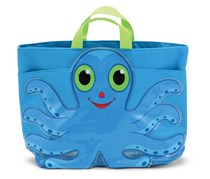 Sunny Patch Flex Octopus Large Beach Tote Bag, Blue