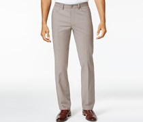 Alfani Mens Luxe Stretch Chinos, Dark Sand
