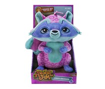 Animal Jam Loopy Raccoon Deluxe Plush, Green/Blue
