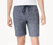 American Rag Mens Classic-Fit Stretch Short, Mist Indigo