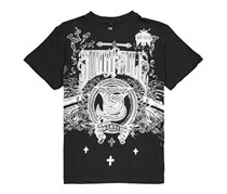 Southpole Men's Graphic Tee, Black