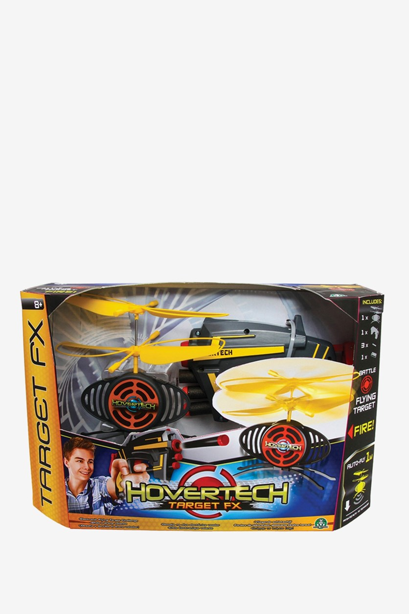 Hovertech Target FX, Dark Grey/Yellow