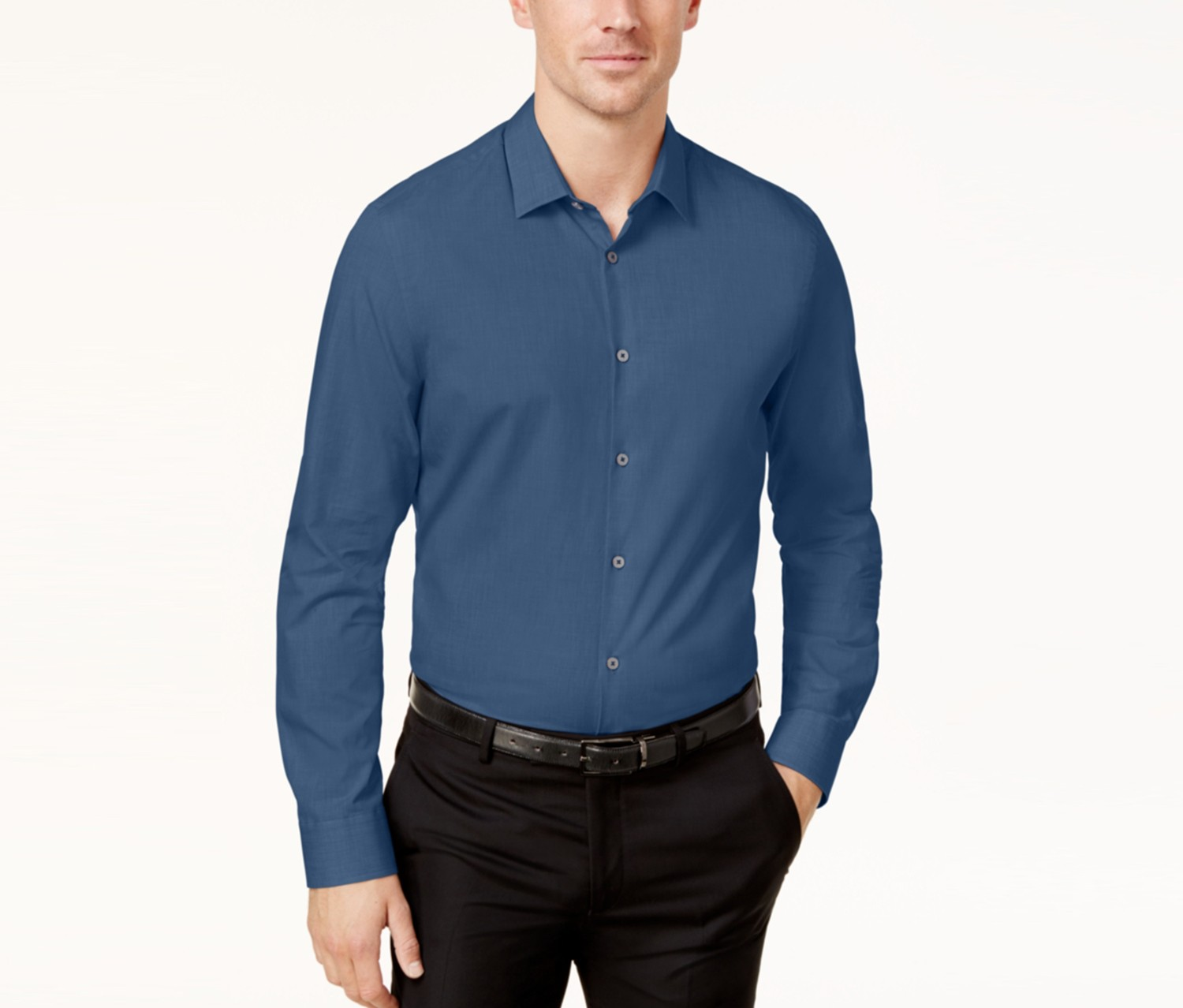 Mens Eco Fresh Shirt, Sergeant Blue