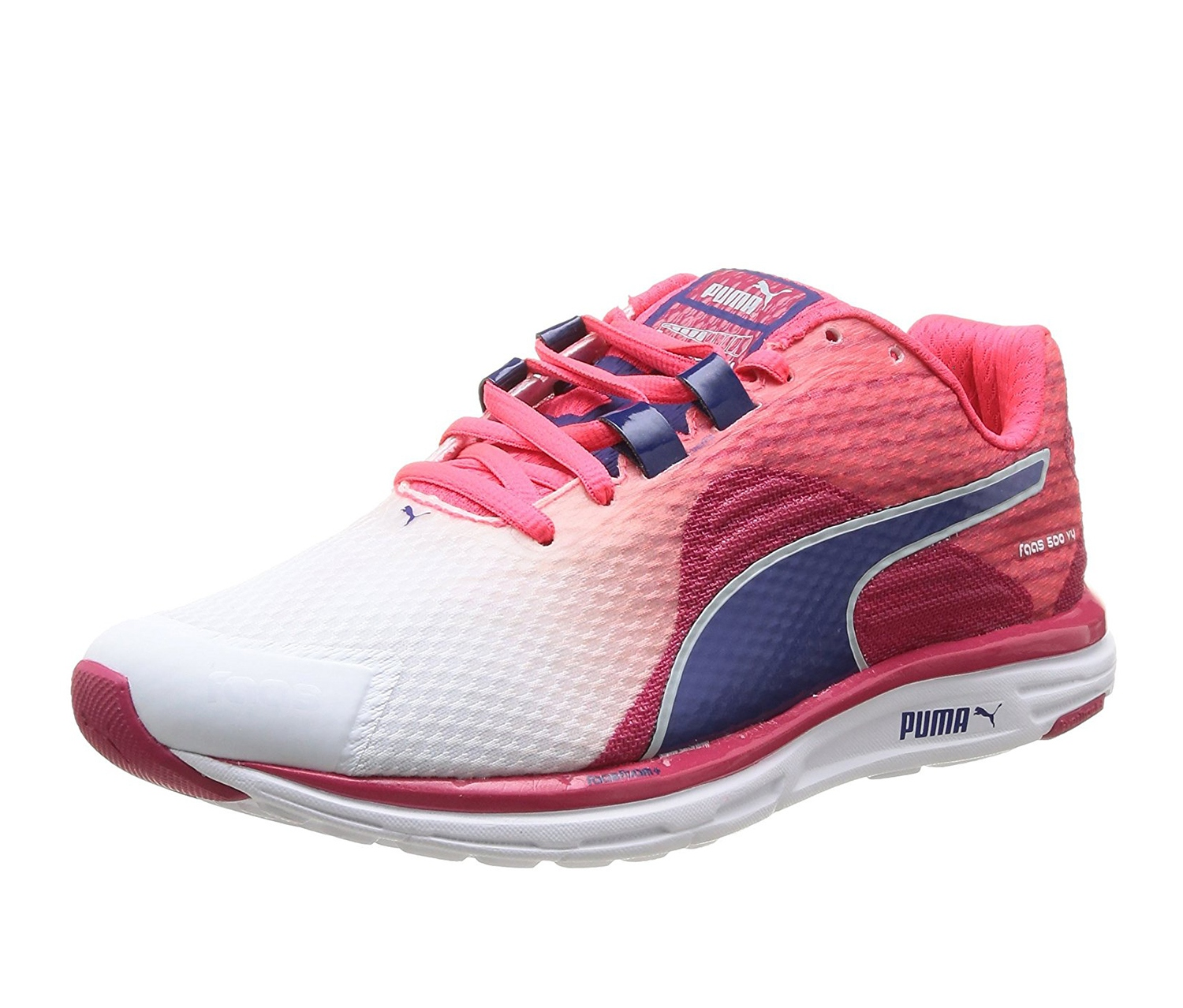 Shoes V4 Running Brands Faas Puma whitepink 500 For Less xnSIHw7