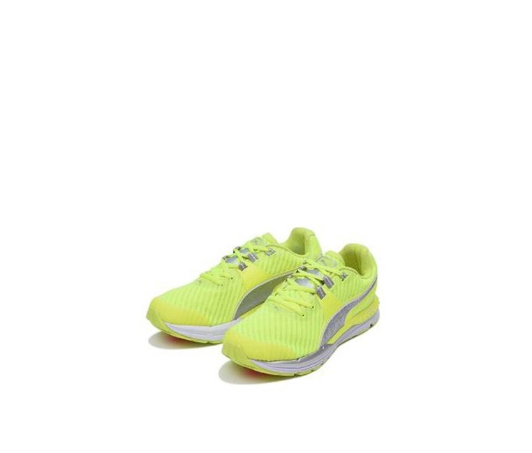 Speed 600 Ignite Powercool Shoes, Safety Yellow/Silver