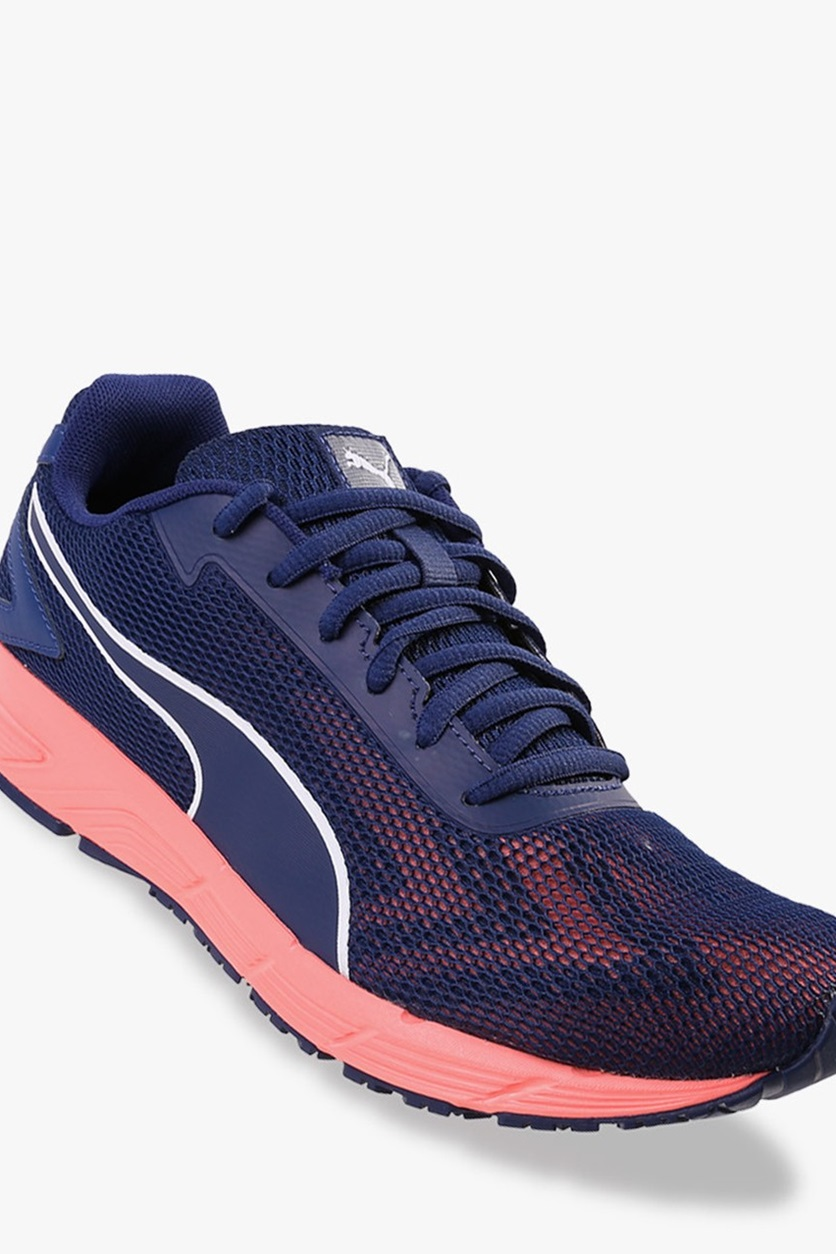 81168a4956 Shop Puma Puma Engine Women's Running Shoes, Peach/Blue Depths/White ...