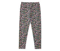 Ralph Lauren Floral-Print Leggings Big Girl, Pink/White/Navy