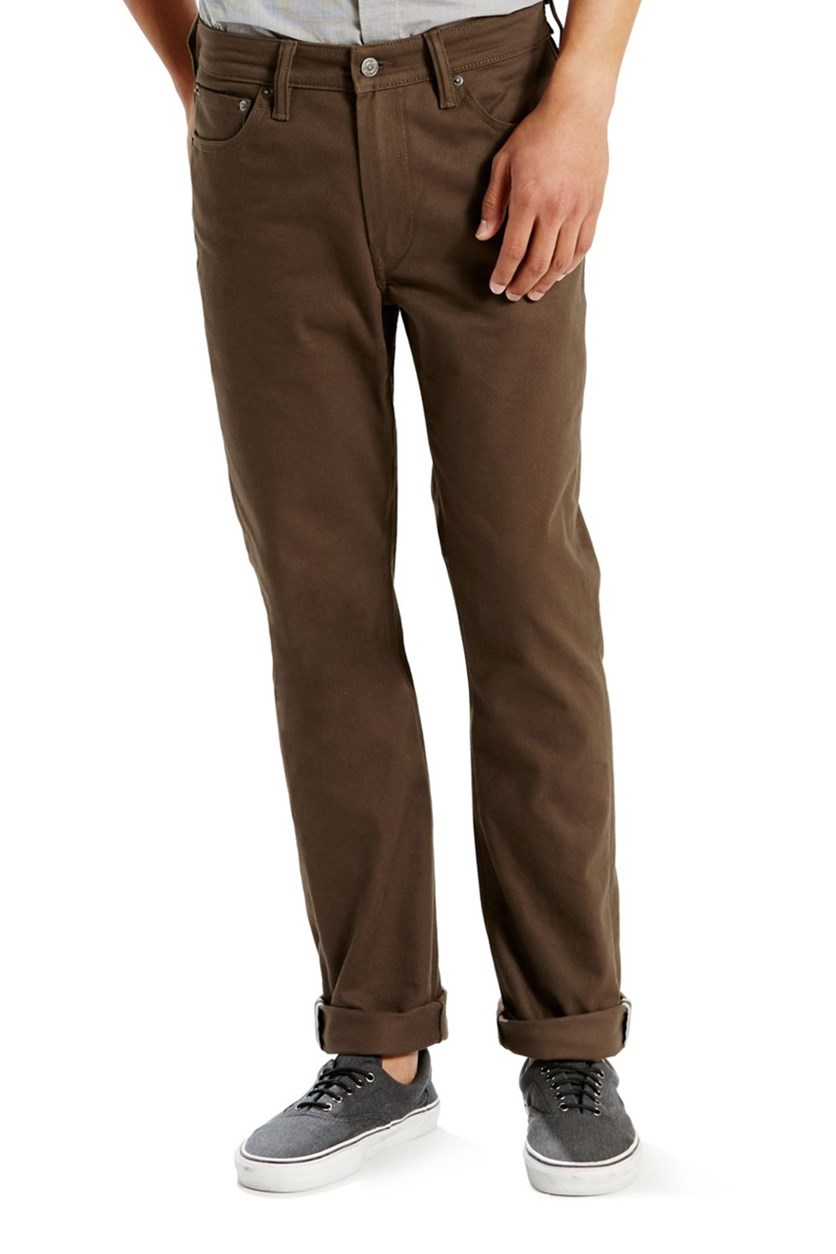 511 Slim-Fit Bittersweet Commuter Pants, Brown