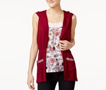 Self Esteem Juniors Printed Tank Top, Hood Zinfandel