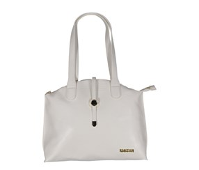 Reaction Kenneth Cole Round About Satchel Bag, White