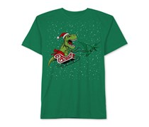 Jem Kids Boys Graphic-Print T-Shirt, Kelly Green