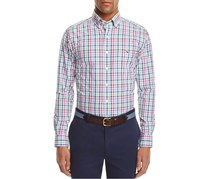 Vineyard Vines North Sea Check Tucker Button Down Shirt, Capri Blue