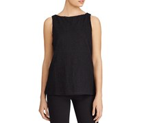 Ralph Lauren Embroidered Tank Top Polo, Black