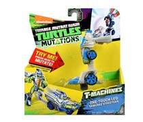 Teenage Mutant Ninja Turtles One Touch Leo T Machines, Grey/Blue