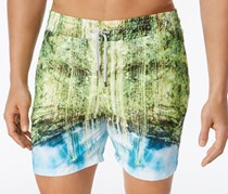 Velero Men's Rain Forest Volley Shorts, Green