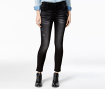 M1858 Alice Women's Skinny Jeans,  Black Wash