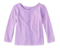 Toddlers Long Sleeved Shirt,Wisteria