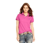 Ralph Lauren Women's Classic Fit Stretch Polo Shirt, Maui Pink