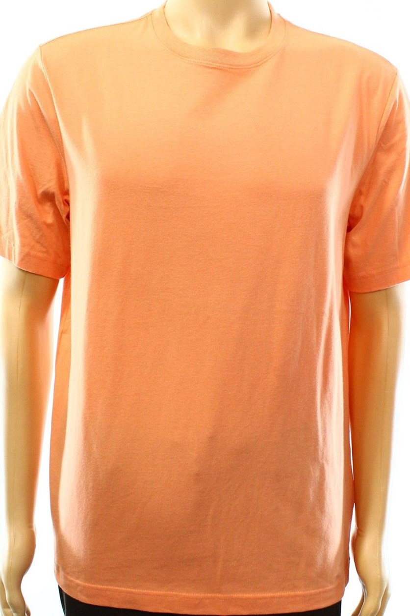 Mens Paxton Crew-Neck T-Shirt, Orange Mist