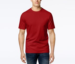 Club Room Men's Crew-Neck T-Shirt, Fire