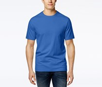 Club Room Men's Crew-Neck Shirt, Palace Blue