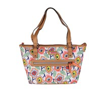 Lily Bloom Everyday Tote Bag, Retro Blossoms
