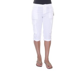 American Living Cropped Cargo Pants, White