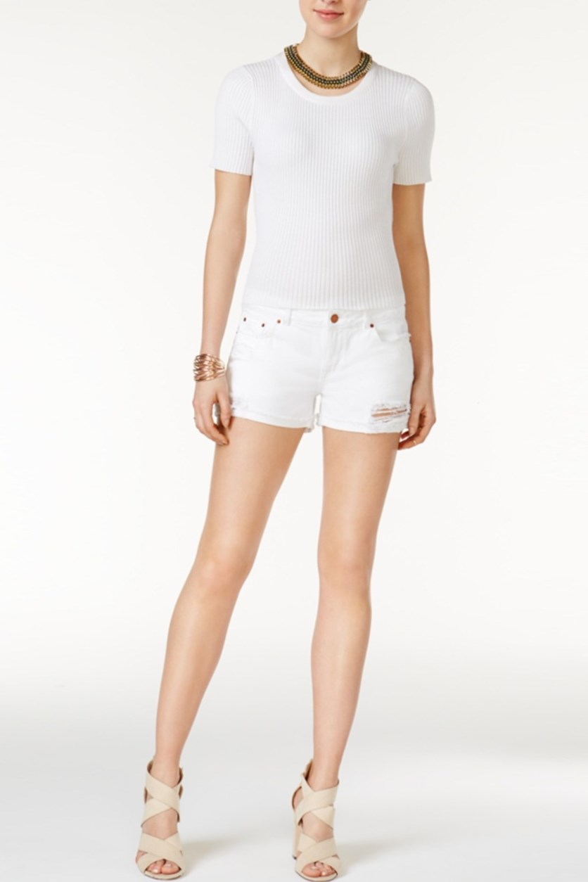 Karlie Cuffed Short, Streamline Wash