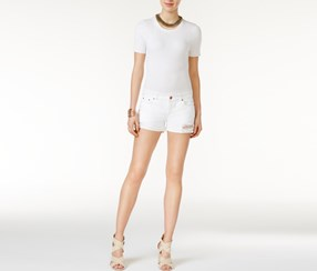 DL 1961 Karlie Cuffed Short, Streamline Wash