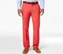 Club Room Men's Flat-Front Chinos Pants, Melone