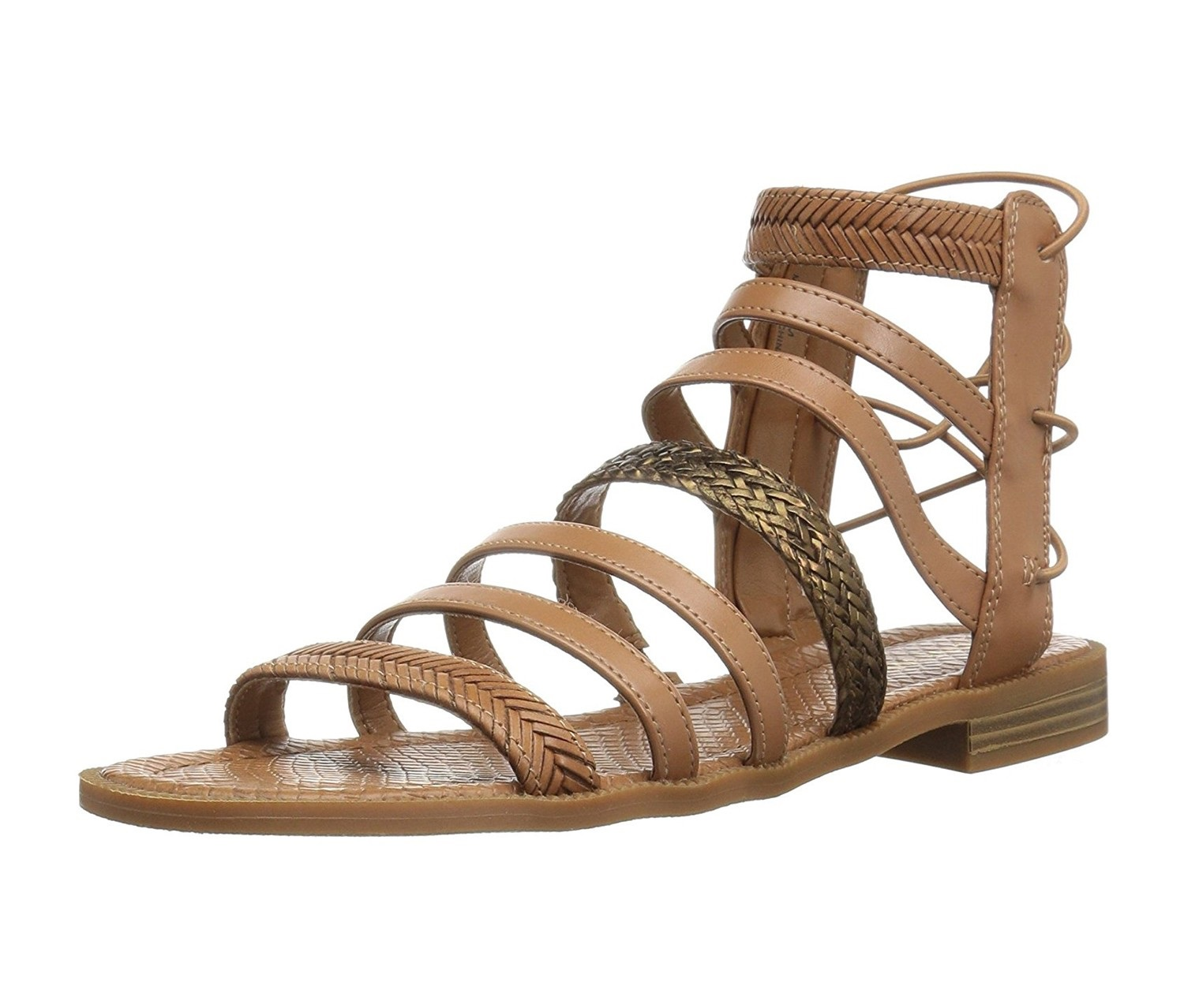 0a084dce445 Shop Nine West Women s Xema Synthetic Gladiator Sandal