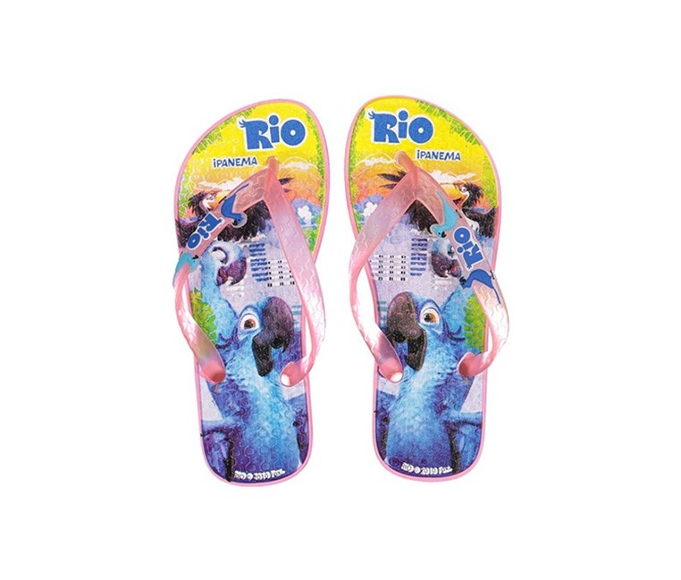Rio INF Girls Slipper, Pink