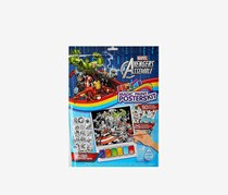 Marvel Avengers Assemble Magic Paint Posters Kit