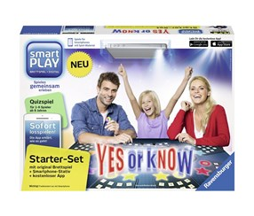 Ravensburger Smart PLAY Starterset Yes or Know, Black