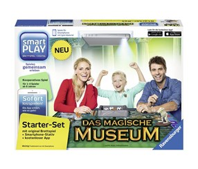 Ravensburger Smartplay Starterset Magisches Museum, Black/Grey