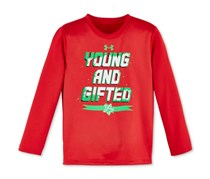 Little Boy's Graphic-Print T-Shirt, Red