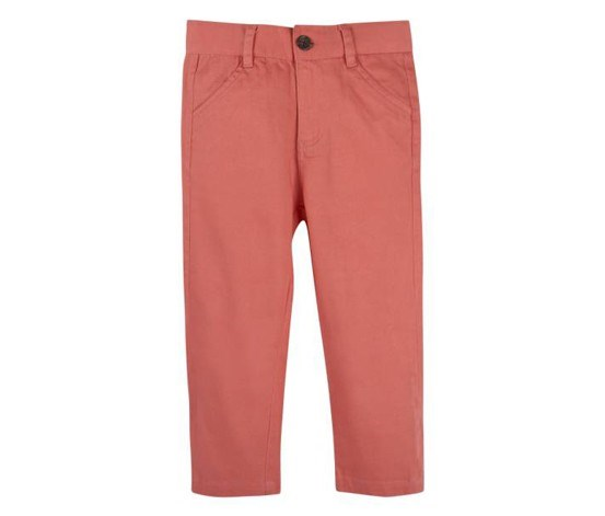 Twill Pant, Coral