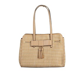 Nanette Lepore Arabelle Paper Straw Shoulder Bag, Natural
