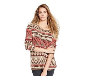 Denim Supply Ralph Lauren Southwestern Sweater,Multi