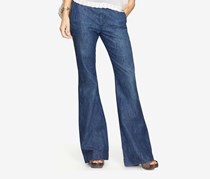 Denim Supply Ralph Lauren Alston High-Rise Flared Jeans, Blue