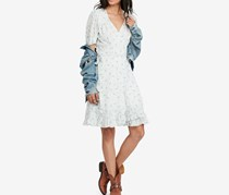 Denim Supply Ralph Lauren Cotton Wrap Dress, Lynvall Floral