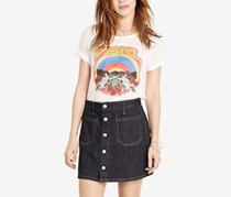 Ralph Lauren Button-Front Denim Skirt, Carstens