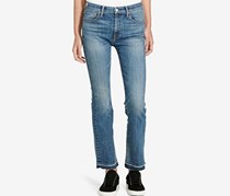Ralph Lauren Denim & Supply Madison Crop Flared Jeans, Blue Denim
