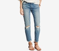 Ralph Lauren High-Rise Tapered Jeans, Phillips