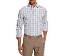 The Men's Store at Bloomingdale's Plaid Regular Fit Button-Down Shirt, Blue Combo