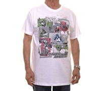 Men's Power Rangers Cotton T-Shirt, White