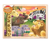 African Plains Wooden Jigsaw Puzzle 24 Pieces