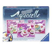 Ravensburger Aquarelle Sweet Dreams Arts & Crafts Kit Playset, Pink