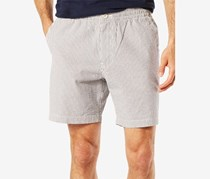 Dockers Men's Weekend Cruiser Pinstripe Shorts, Grey